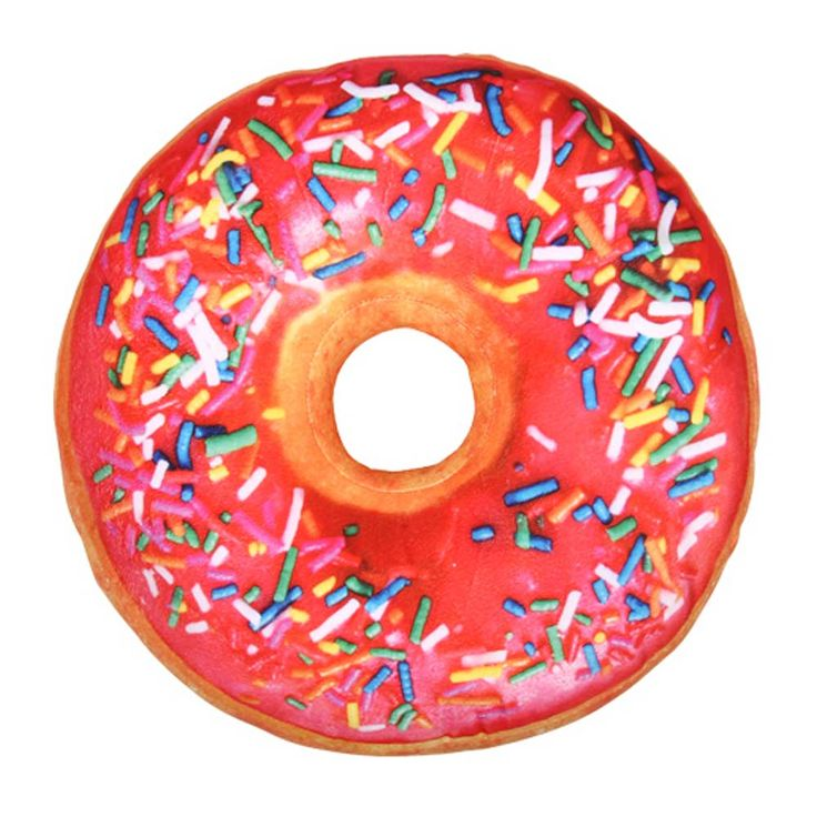 Donut pillow, for all you sweet tooths