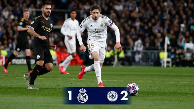 Real Madrid Vs Manchester City 1 2 Highlights Download Video In 2020 Manchester City Real Madrid Madrid