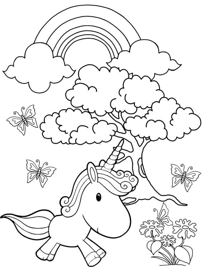1001 Ideen Fur Ausmalbilder Einhorn Fur Kinder Malvorlage Einhorn Ausmalbilder Einhorn Zum Ausmalen