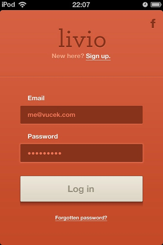 39 best images about iOS SIGNUP FORM LOGIN on Pinterest