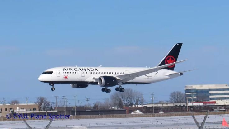 Primul Boeing 787-8 în noul livery Air Canada, în zbor (Video)