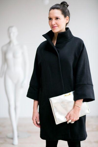 TOKYO COAT black