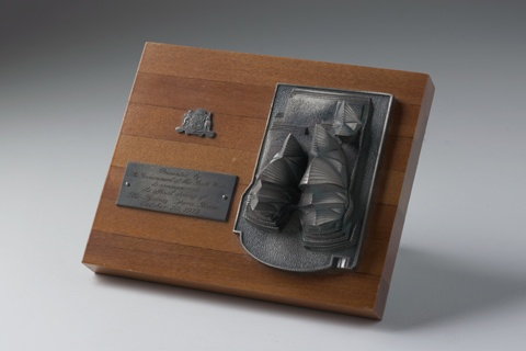 The Opera House commemorative model presented to mark the building's official opening in 1973. Photo: Lannon Harley.
