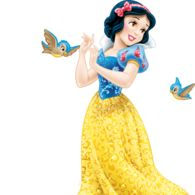 Images of Snow White from Snow White and the Seven Dwarfs.