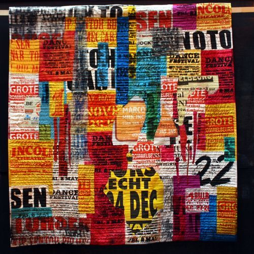 Birmingham Festival of Quilts - Don't have info on creator, wish I did, re-pined