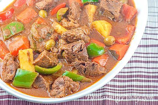 how to cook beef caldereta youtube