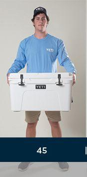 YETI Cooler Sizes, Capacity & Dimensions | YETI Coolers