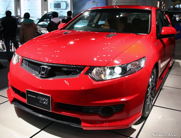 Accord Euro R which is a TSX in the States. Body kit