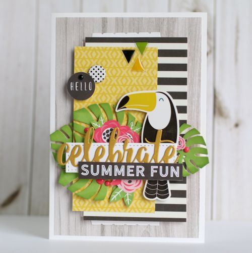 Celebrate Summer Fun card by Echo Park Paper