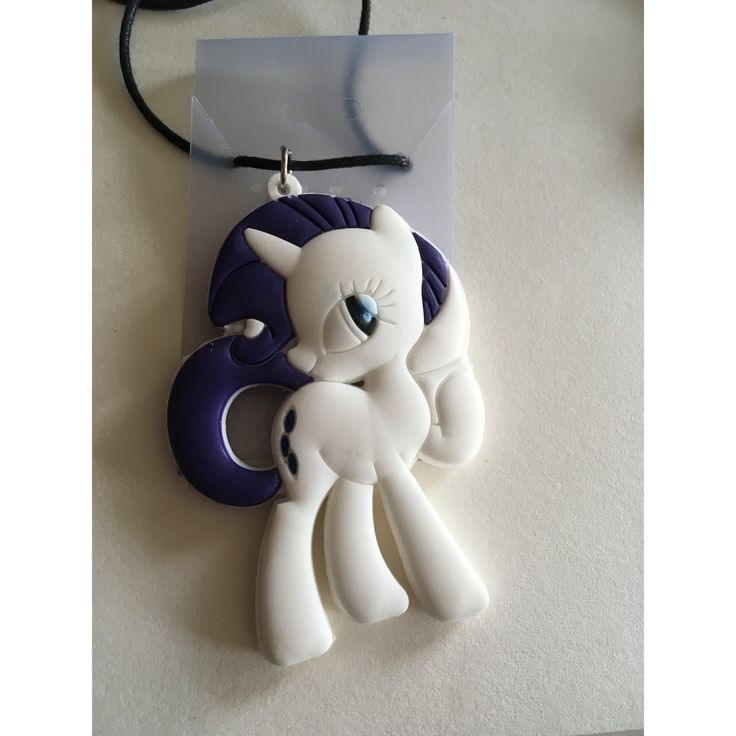 My Little Pony Rarity Plastic Necklace – The Geekery