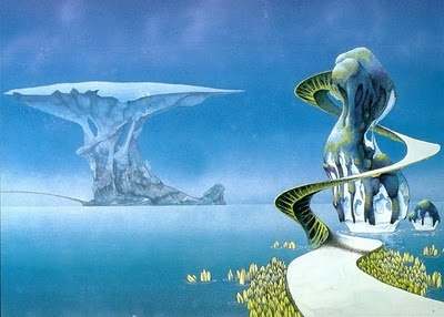 Roger Dean - Yes Songs (Yes album cover)