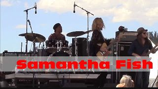 """Samantha Fish: Blues From The Top 2016 series   Recorded at Blues From The Top Festival in Winter Park CO on 06/26/16 Samantha Fish - Guitar Vocals  Chris Alexander - Bass  Go-Go Ray - Drums  Samantha Fish - """"Wild Heart"""" - Blues From The Top - 06/26/16 Samantha Fish - """"Don't Say You Love Me"""" - Blues From The Top - 6/26/2016 Samantha Fish - """"Blame It On The Moon"""" - Blues From The Top - 06/26/16 Samantha Fish - """"Blood In The Water"""" - Blues From The Top - 06/26/16 Samantha Fish"""