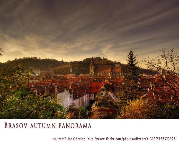 Brasov Autumn Panorama  https://www.facebook.com/FromTransylvaniaWithLove