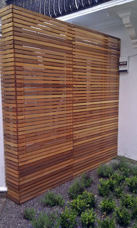 Wooden Garden Screens ~ Best fencing images on pinterest