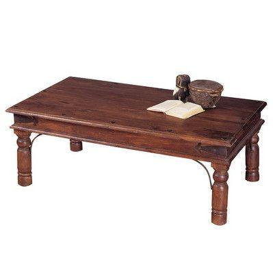 Tavolino etnico legno 110x60 - Etnico Outlet mobili etnici