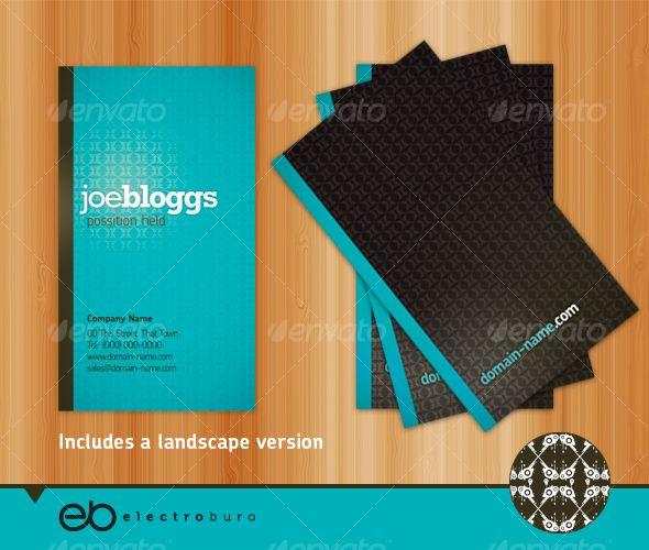 16 best business cards images on pinterest business card design generic business card portrait landscape fbccfo Choice Image