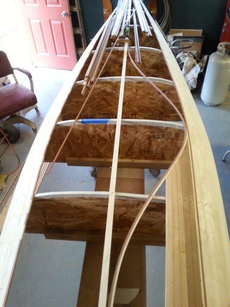 Building My Cedar Strip Canoe 19 best