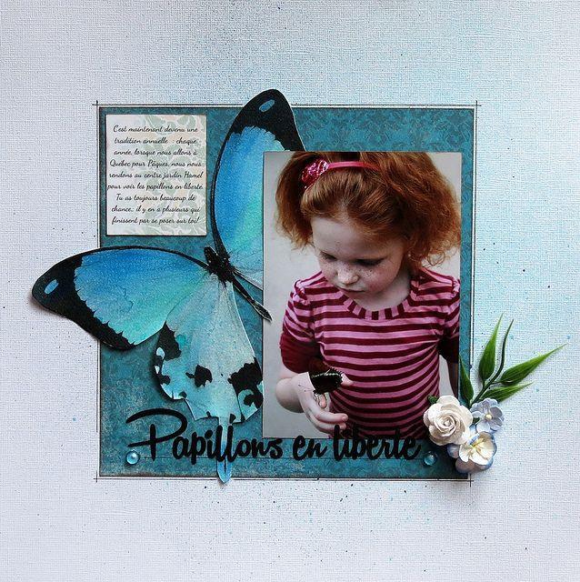 Papillons en liberté by marieetmichael, via Flickr
