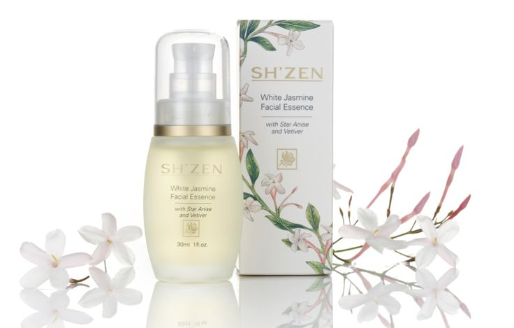 White Jasmine Facial Essence stimulates, restores, and revives slack or stressed skin with its 100% natural elixir of regenerating essential oils.