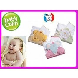 Ręcznik kąpielowy z kapturkiem i myjką - 3 wzory BABYCALIN Toddlersi