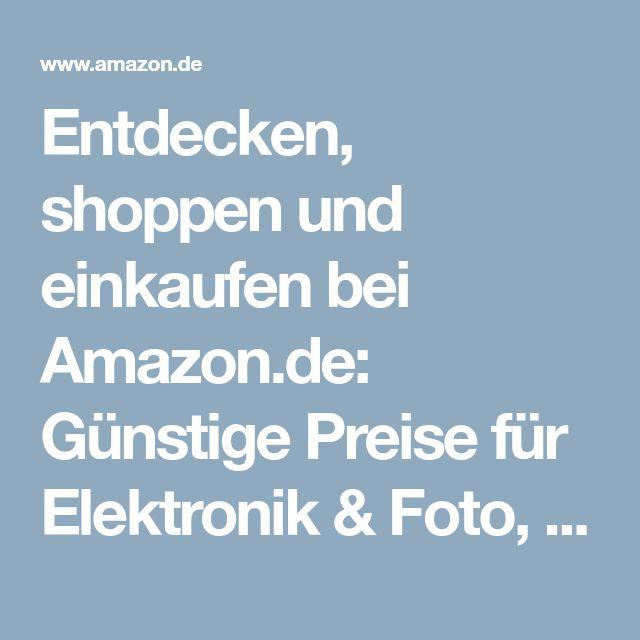 Entdecken, shoppen und einkaufen bei Amazon.de: Günstige Preise für Elektronik & Foto, Filme, Musik, Bücher, Games, Spielzeug, Sportartikel, Drogerie & mehr bei Amazon.de