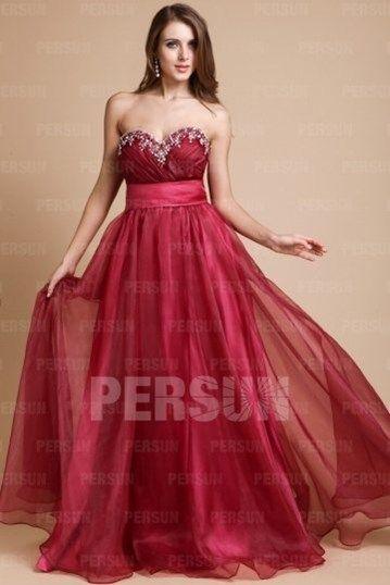 ... about Robe de mariée rouge on Pinterest  Manche, Bijoux and Robes