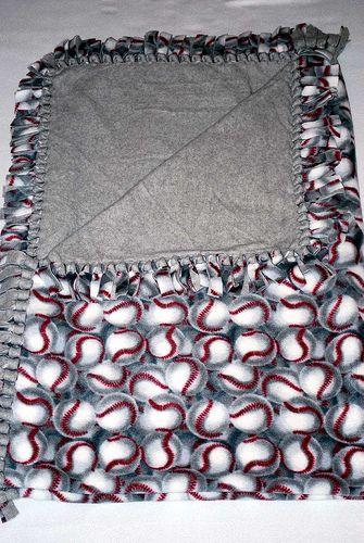 Baseball Fleece Blanket by Grandma Jims Blankets, via Flickr