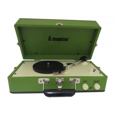 New Steepletone Portable Record Player now available at exclusive prices!!!  http://www.dkwholesale.com/audio-video/radio-cd-hi-fi/hifi-turntables/steepletone-retro-portable-vinyl-3-speed-record-player-srp025-green.html