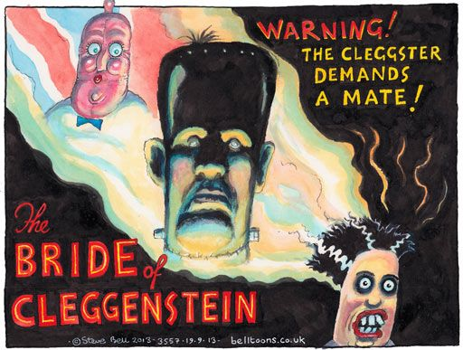 18 September 2013 - The Bride of Cleggenstein.