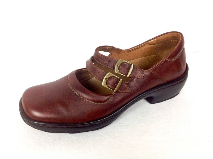 Josef Seibel Shoes Brown Leather Loafers Womens 8 39 #JosefSeibel #MaryJanes #WeartoWork