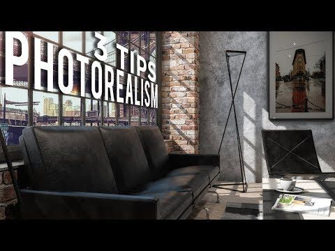 3 Tips to increase PHOTOREALISM | Vray 3 6 for Sketchup