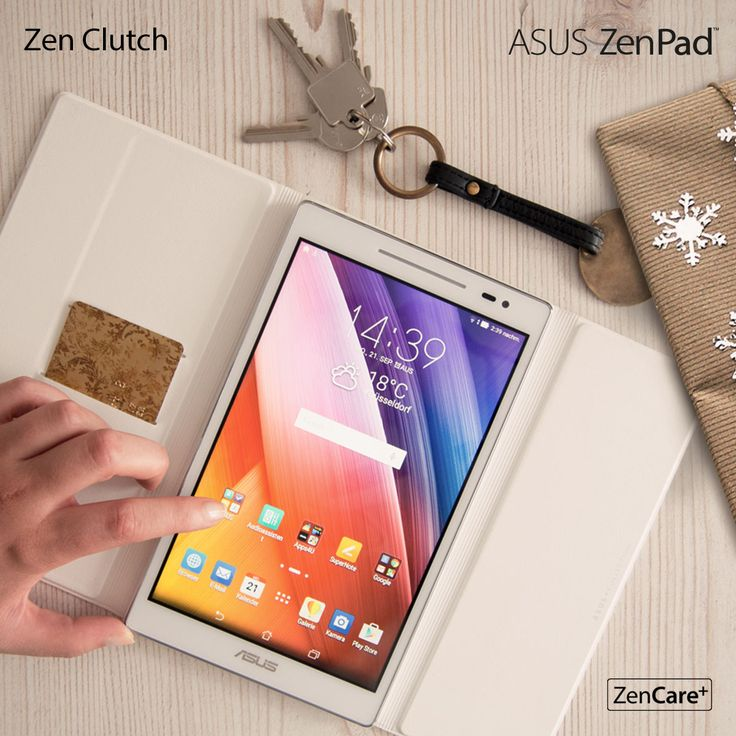 ASUS ZenPad with Zen Clutch   Technology the is designed to match your style   Tablet