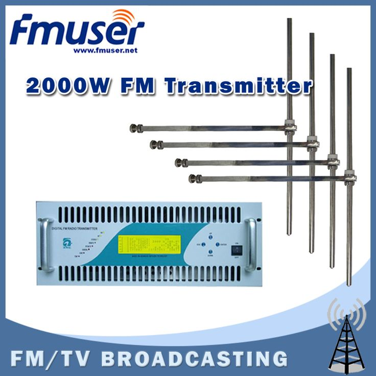 >> Click to Buy << Free shipping FMUSER CZH618F-2000C 2KW Professional FM transmitter Compact Size DSP DDS Broadcaster +4 BAY FM-DV1 Dipole Antenna #Affiliate