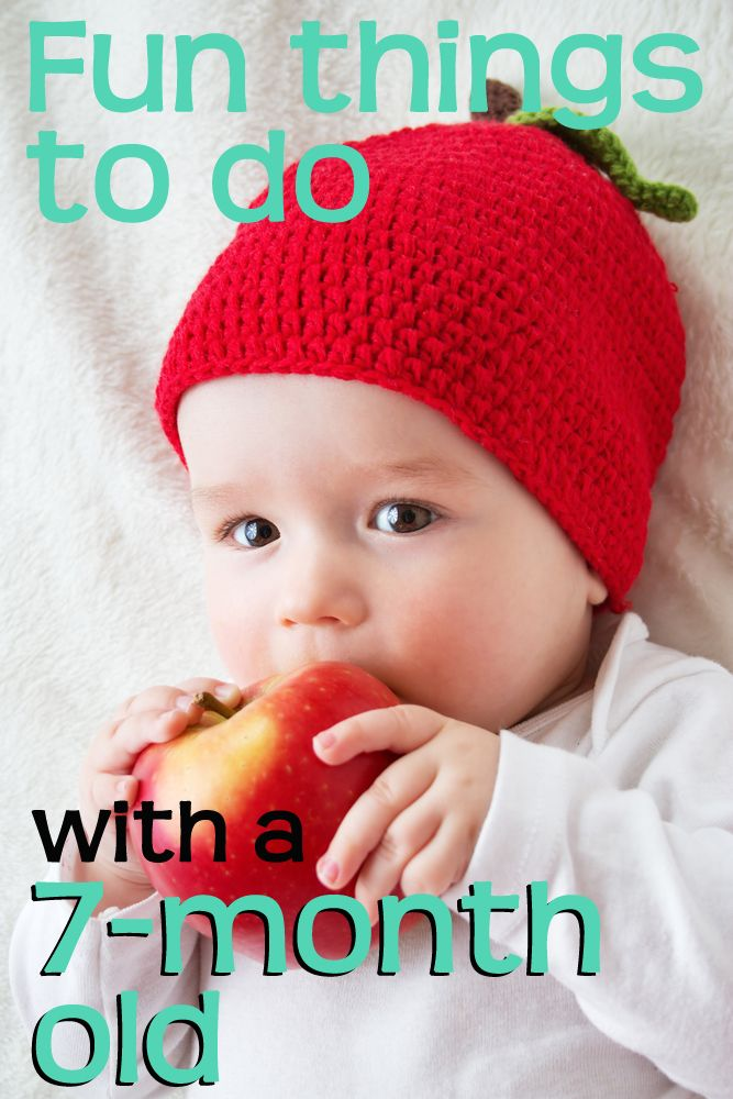 Fun things to do with a seven-month old baby