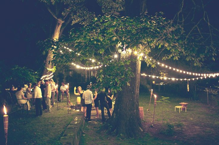 Backyard // String Lights | Gather // | Pinterest | Backyard, Lights And  Future House