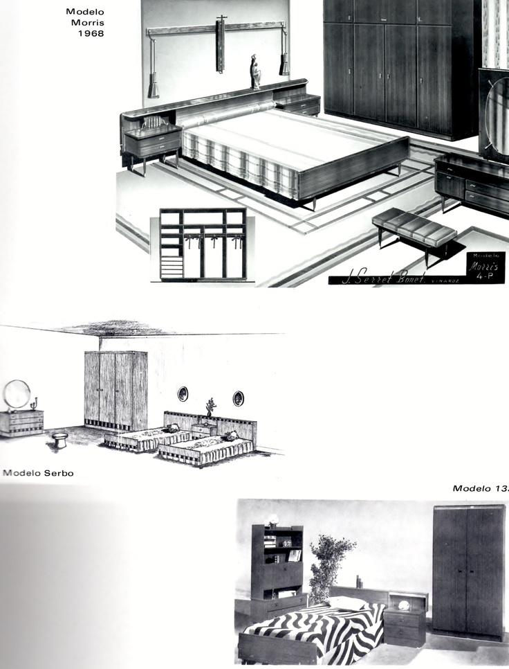 Y aqu otro ejemplo de dormitorio n rdico y unas muestras for Ejemplo de dormitorio deco
