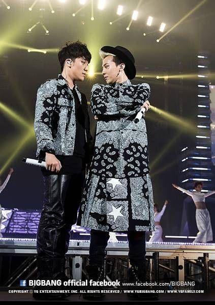 Seungri and GD ♡ #BIGBANG's Concerts @ Kyocera Dome