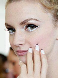#veronikamaine #blackandwhite #inspiration #summer13 #makeup