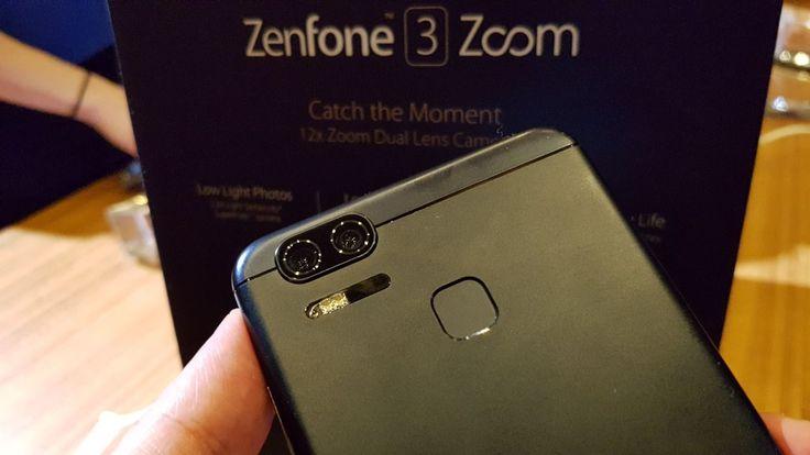 ASUS apresenta 2 novos smartphones na CES 2017 - http://www.showmetech.com.br/asus-zenfone-3-zoom-zenfone-ar/