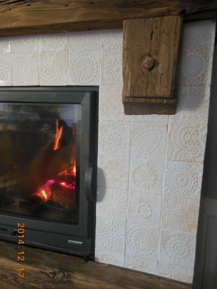 artkafle-kafle na kominek
