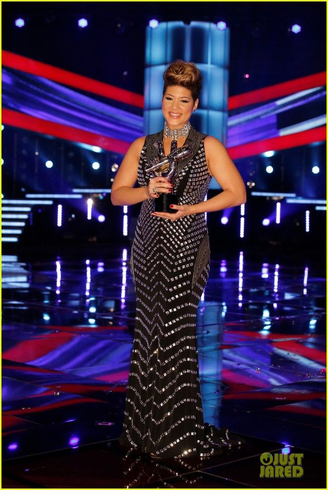 'The Voice' Winner-Tessanne Chin
