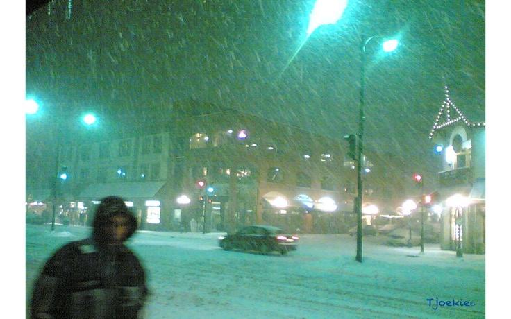 Snow Storm - Banff - Canada