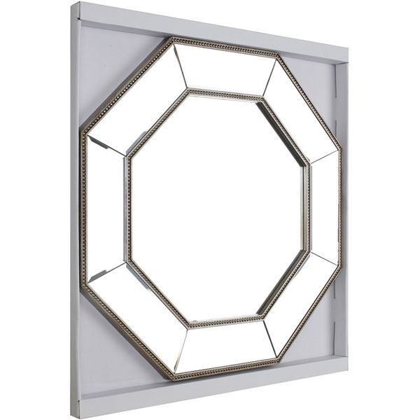 Shop Hobbitholeco  24-in x 24-in Clear Beveled Octagon Framed Contemporary Wall Mirror at Lowe's Canada. Find our selection of wall mirrors at the lowest price guaranteed with price match + 10% off.