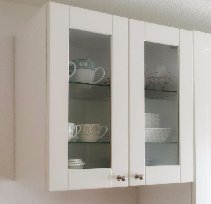 25 best ideas about oberschrank kuche on pinterest for Ikea küchenvitrine