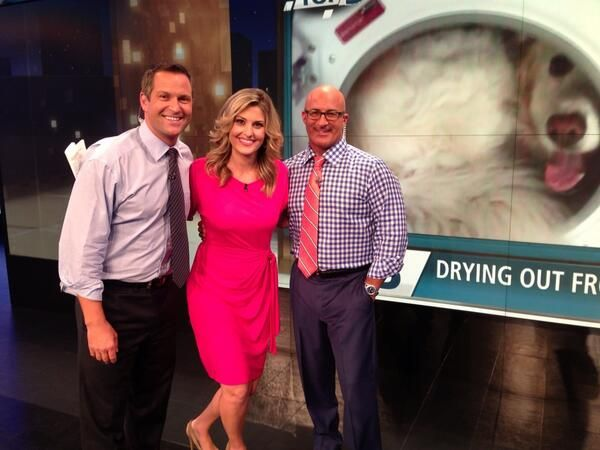 Crystal Egger Husband Just another fun night at twc with jim cantore ...