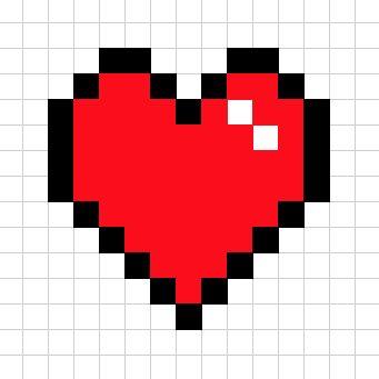 8-bit Heart Cookies