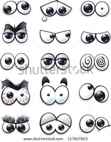 Cartoon eyes collection
