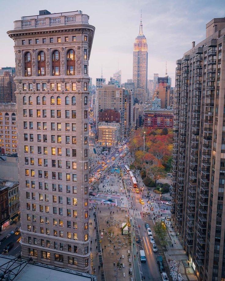 Flatiron District, NYC by @opoline