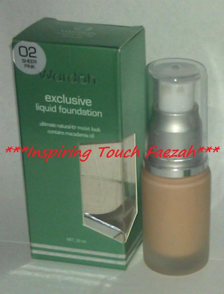 Wardah Cosmetic Exclusive Liquid Foundation