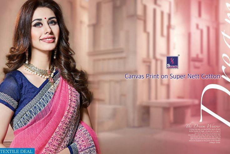 Buy now Exclusive Shangrila Aashiyana Wholesale Fashionable Printed Ethnic Saree Collection